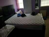 Queen size bed plus mattress and box spring Woodbridge, 22193
