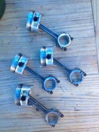 Pistons/Rings/Connecting Rods Yamaha Outboard F50TLR