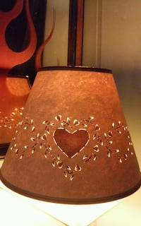 """""""Shades of Country"""" Cut-Out Lamp Shade 12"""" x 8""""  Elizabethtown, 17022"""