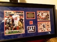 Autographed Eli Manning MVP Picture Frame  Beacon Falls, 06403