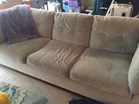 Tan Microfiber Couch  Odenton, 21113