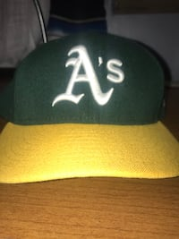 Oakland Athletics Hat 7 1/2 Los Angeles, 90032