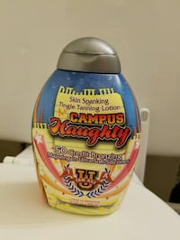 "New ""Campus Naughty"" tanning bed lotion  Knoxville"