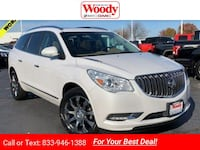 2016 Buick Enclave Leather suv White Frost Tri-Coat Naperville