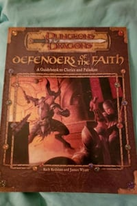 Defenders of the faith guidebook to clerics and Paladins Tewksbury, 01876