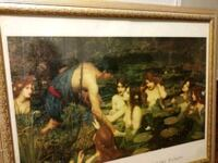 """John William Waterhouse """"Hylas and the Nymphs"""""""