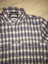 Men's Lacoste Button Up Shirt Mississauga, L5A 1A3
