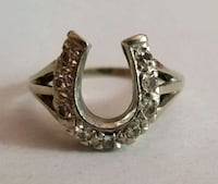 Vintage 14k Diamond Horseshoe Ring Manassas, 20110