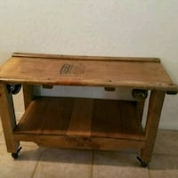 Creeper bench/table