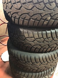 4 General Evertrak Arctic Tires