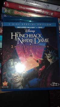 The hunchback of notredame 1 and 2  Los Angeles, 90744