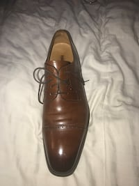 Pair of black leather dress shoes Louisville, 40214