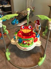Fisher-Price Rainforest Frog jumperoo 31 km