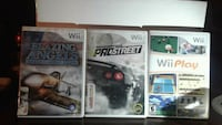 three assorted PS3 game cases Toronto, M5N