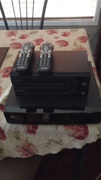 Shaw Arris HDPVR System with two portals and remotes Edmonton