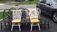assorted black, white, and brown windsor chairs Oyster Bay, 11771