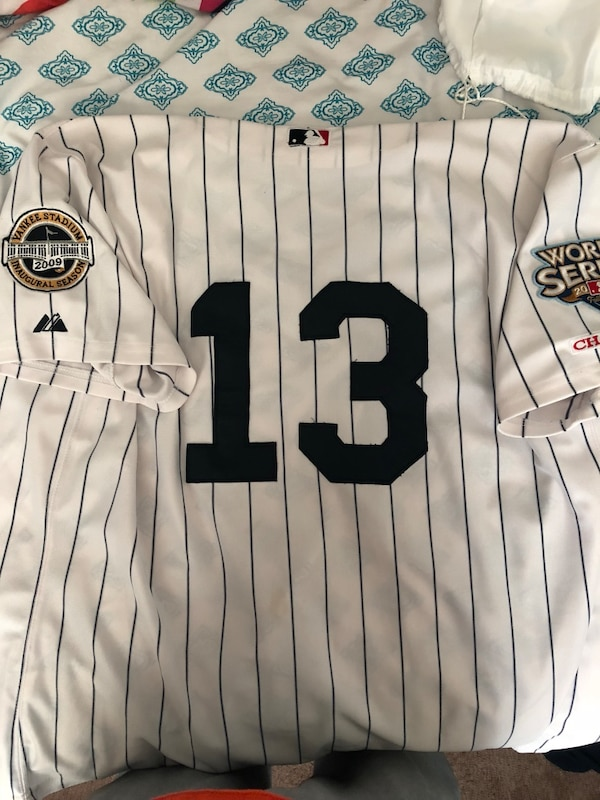 best website 25e22 bdfea Alex Rodriguez Yankees Jersey 2009 World Series and Inaugural Stadium 2009