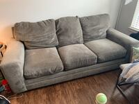 Gray fabric 3-seat sofa Rockville, 20852