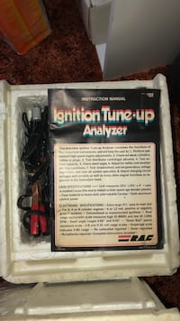 Ignition tune up analyzer  1820 mi