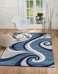 New modern design carpet size 8x10 nice blue area rug rugs and carpets Burke, 22015