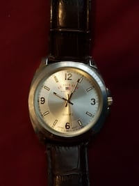 round gold U.S. Polo Assn. analog watch with black Edmonton, T5L 0S3