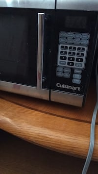 black and gray microwave oven Colorado Springs, 80918