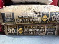 New bags of 90 lb high strength concrete Los Angeles, 91311