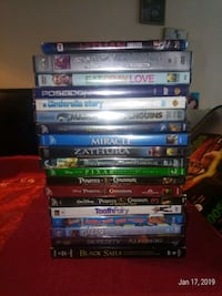 """Pile Of Sealed DVD""""S Burnaby, V5A 4G5"""