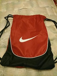 red and black Nike backpack York, 17401