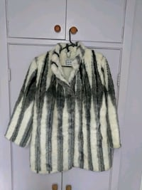 Faux fur woman's coat- $75 Scarborough, M1P