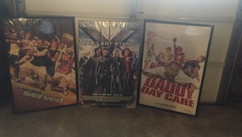 Three movie dvd cases