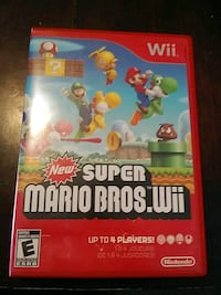 NINTENDO WII SUPER MARIO BROS VIDEO GAME