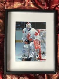 Grant Fuhr signed and framed 11x14 photo Châteauguay, J6K