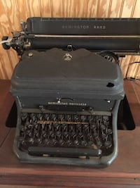 Black remington rand typewriter Burke, 22015
