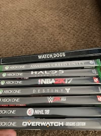 XBOX ONE + Games + Controller + Kinect Delta, V4C 3C8