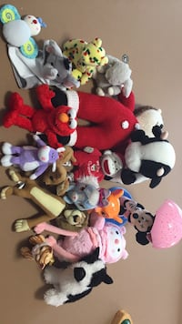 Assorted-color plush toy lot Pikesville, 21208