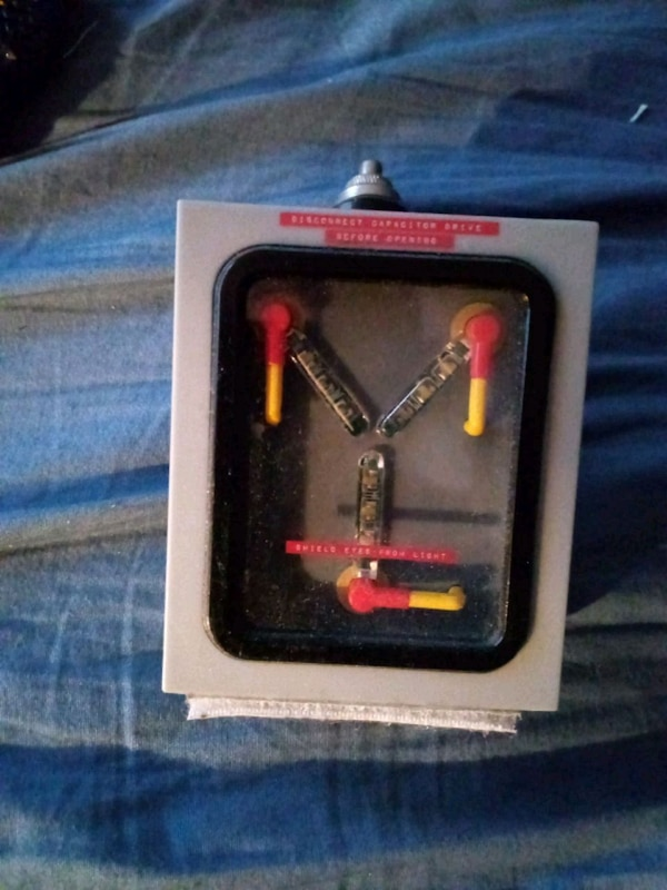 Flux Capacitor car phone charger.
