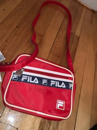 Red fila side bag
