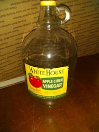 , vintage 1 gallon White House jar Clear Brook, 22624