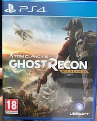 Ghost recon wildlands ps4 spill tilfelle Oslo, 0980