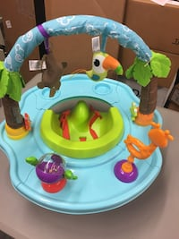 Baby's blue and green activity saucer Hendersonville, 37075