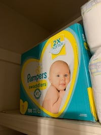 330 Pampers swaddlers diapers