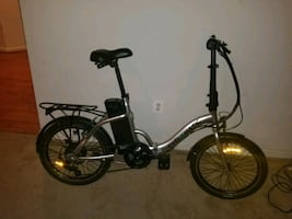 Cyclamatic CX2 Folding Electric Mountain Bike
