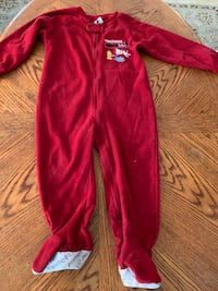 Blanket sleeper size 3T. 2 boys t-shirts size 2T North Fort Myers, 33903