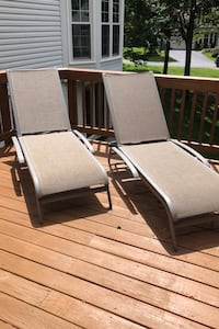 Outdoor Sunbrella Sling Chaise Longe Chairs Clifton, 20124