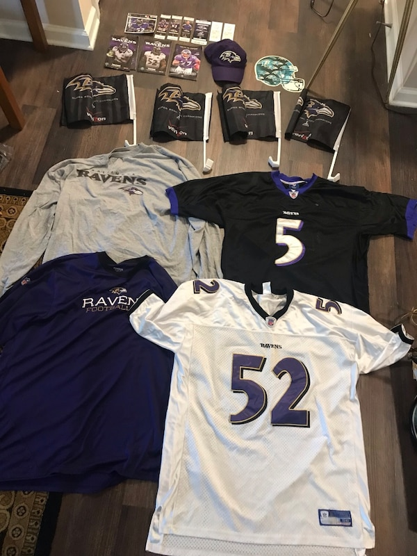 reputable site cf28c 070d8 NFL Baltimore Ravens items: Ray Lewis Jersey etc!!
