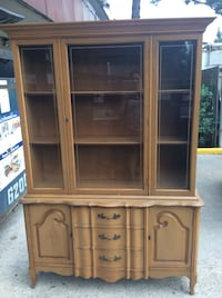 Solid wood buffet ,good condition