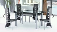 Glass top round table with 4chairs  Alexandria, 22306