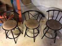 3 barstools in good condition bought new ones only a year old call  [TL_HIDDEN]  Somersworth, 03878