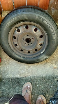 4 used Michellen tires